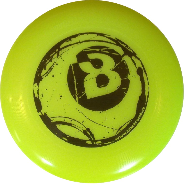 Ultimate_frisbee_custom_disc_Yellow