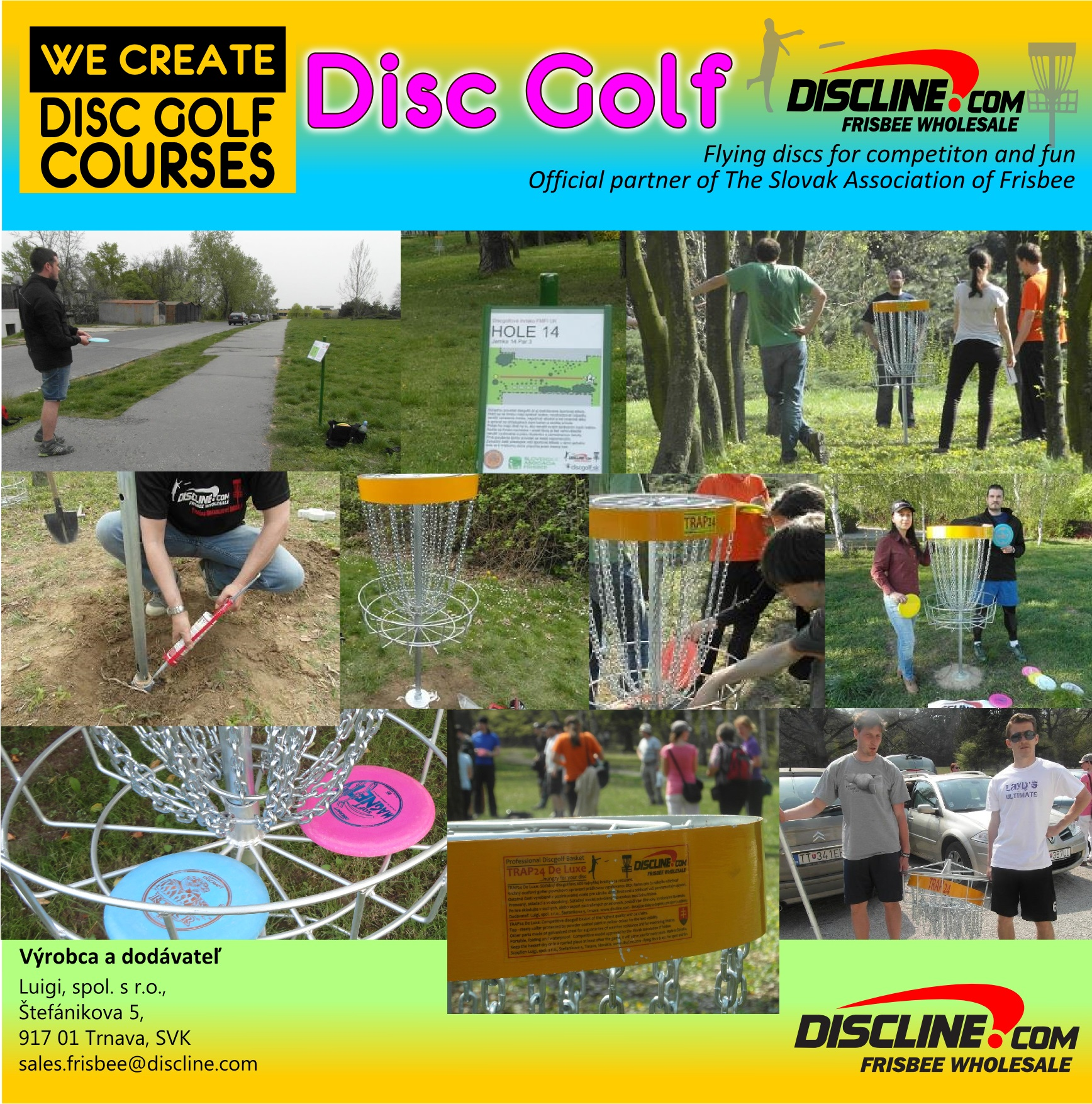 Discgolf course