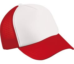 Mesh Cap - RED & WHITE